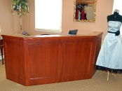 Bridal Garden sales desk, Cherry Hill, NJ