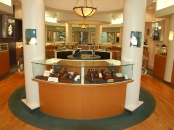 Yampell Jewelers display counter, Haddonfield, NJ