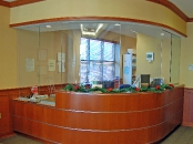 South Jersey Surgical Center reception desk, Mt. Laurel, NJ