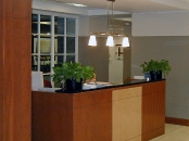 Ballard Spahr reception desk, Voorhees, NJ