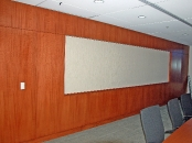Styron conference room wall, Berwyn, PA